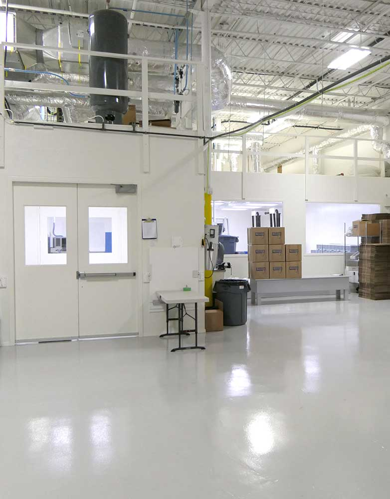About Waterra - Calgary Cleanroom Facility