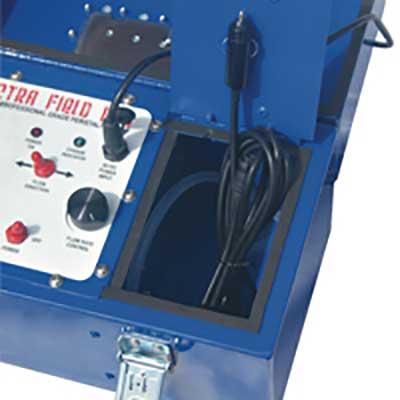 Spectra Field-Pro Peristaltic Pump - storage compartmentt