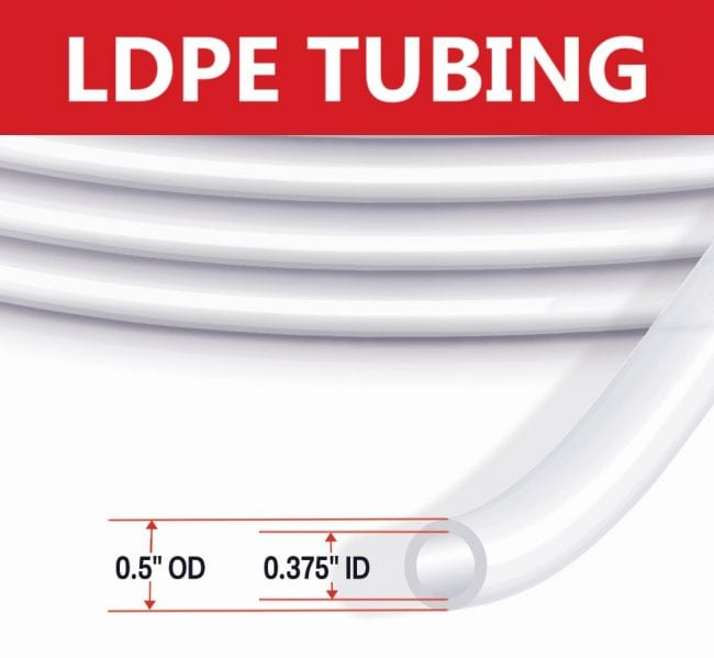 Waterra LDPE Low Flow Tubing