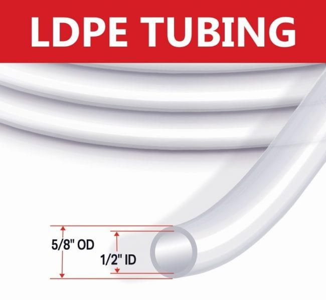 Waterra LDPE Standard Flow Tubing