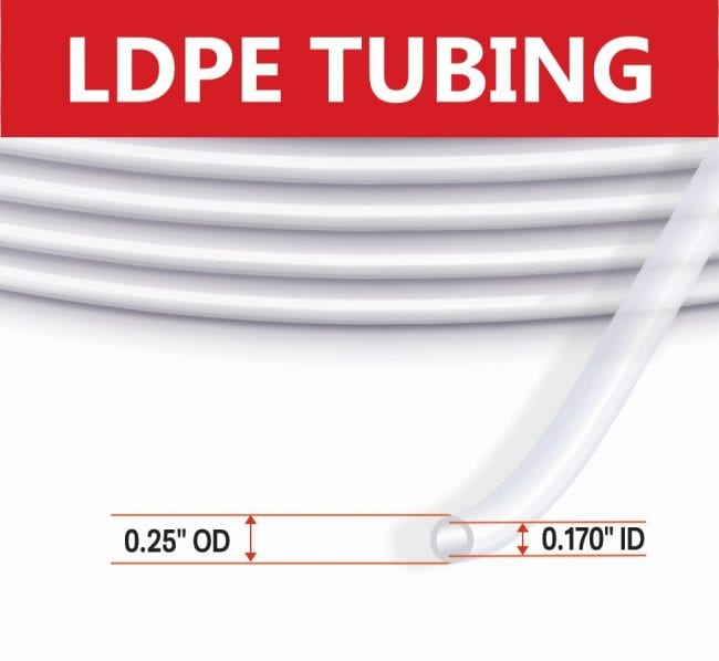 Waterra LDPE VOC Tubing