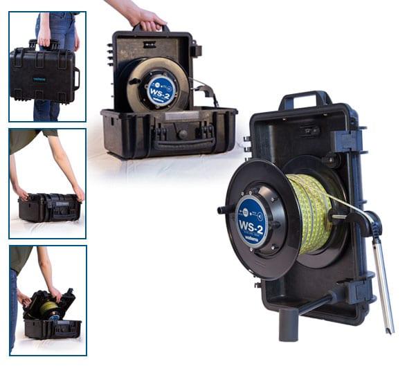 WS2 Waterra Water Level Sensor Reel Case