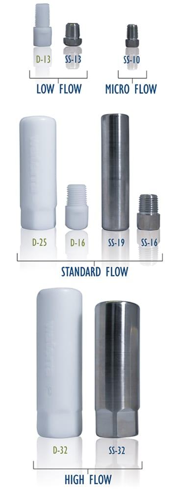 Waterra Pump Foot Valves - Vertical