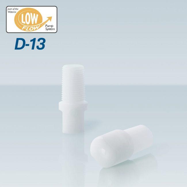 Waterra D-13 Delrin (acetal) Foot Valve pair for sampling groundwater with Waterra Pump Low Flow Tubing