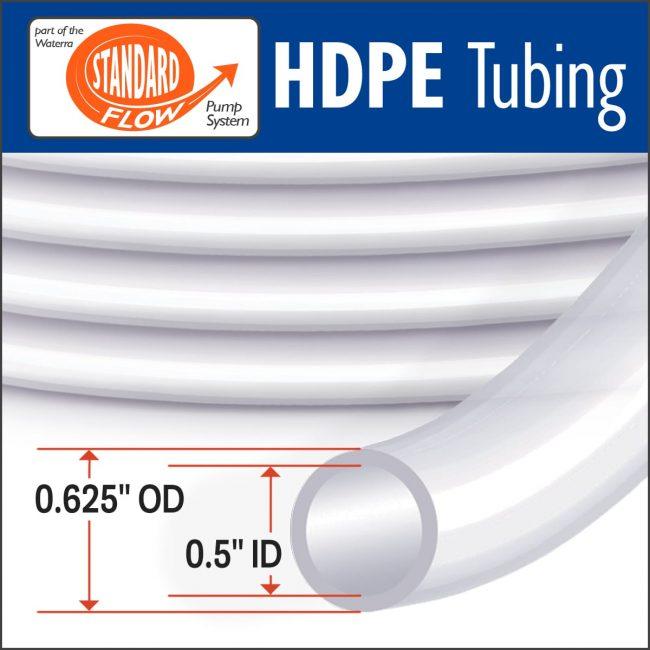 Waterra HDPE Standard Flow Tubing