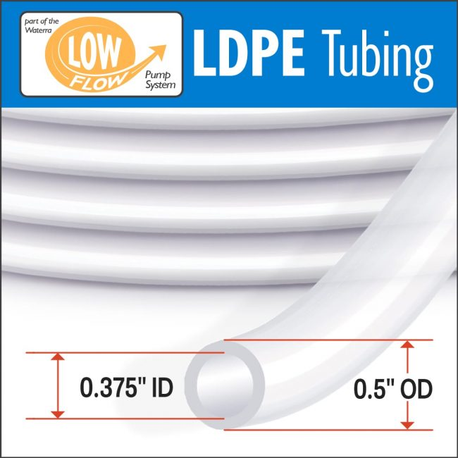 Waterra LDPE Low Flow Tubing