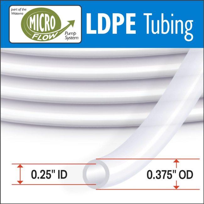 Waterra Pumps Low Density Polyethylene Micro Flow Tubing for Groundwater Sampling