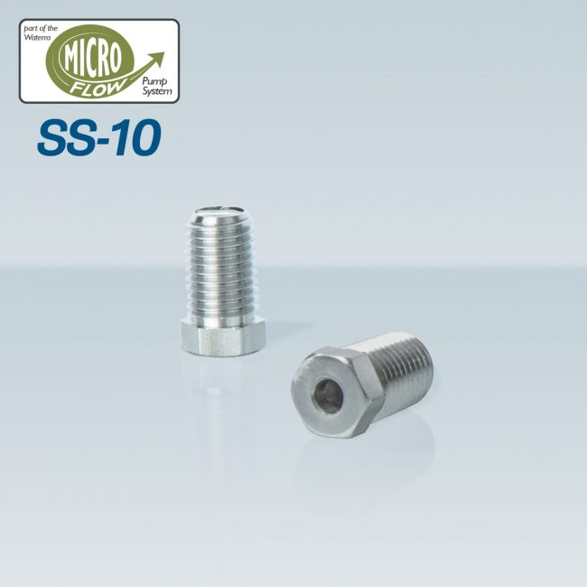 Waterra SS-10 Stainless Steel Foot Valves - pair - with Micro Flow HDPE and LDPE Tubing for groundwater sampling