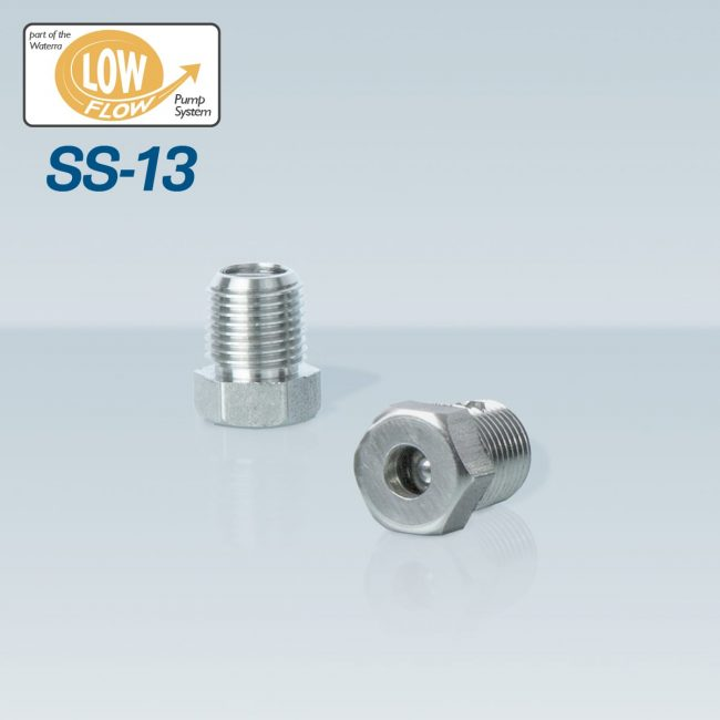 Waterra SS-13 Stainless Steel Foot Valves - pair - with Low Flow HDPE and LDPE Tubing for groundwater sampling