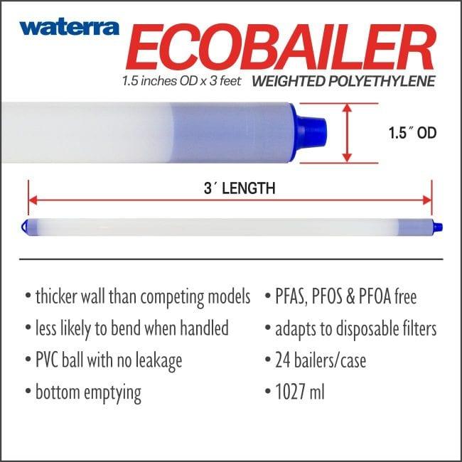 Polyethylene Eco Bailers Groundwater Sampler