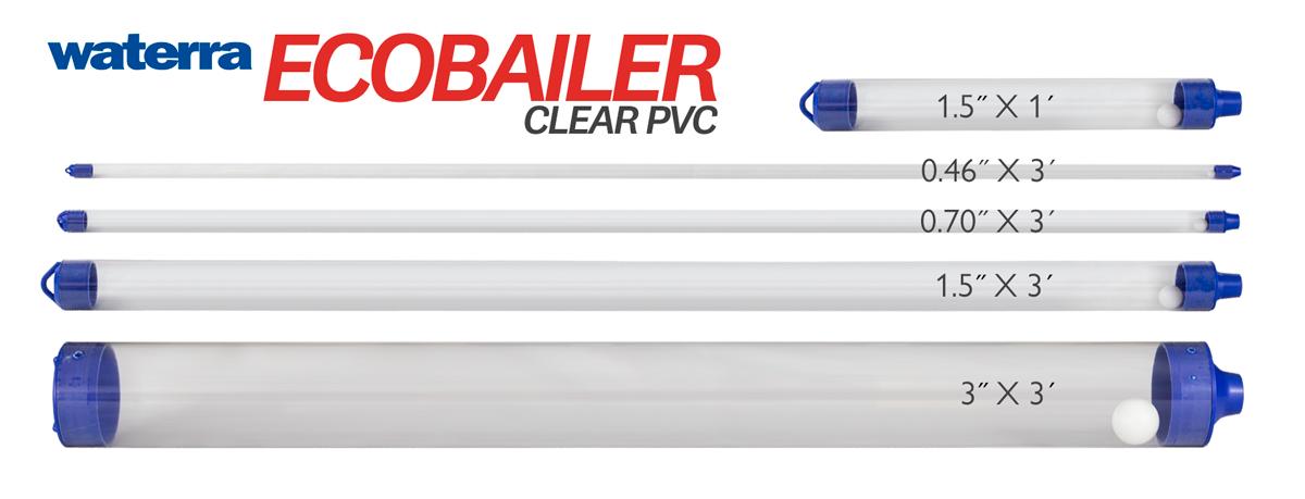 Eco Bailer Groundwater Sampler (Clear PVC)