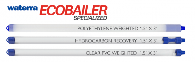 Specialized Eco Bailers For Sampling Groundwater